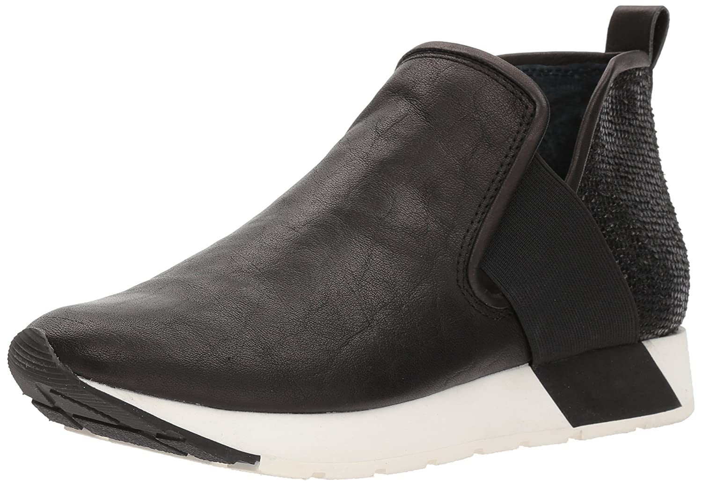 Dolce Vita Women's Ysbel Sneaker B077GLZ15F 8.5 B(M) US|Black Leather