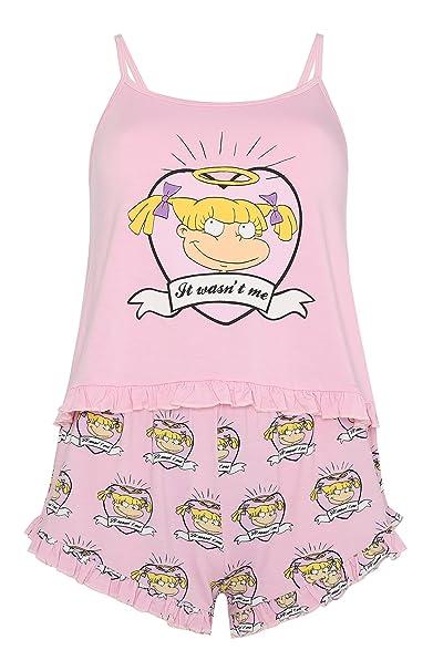 Primark - Pijama - para Mujer Rosa Rosa S