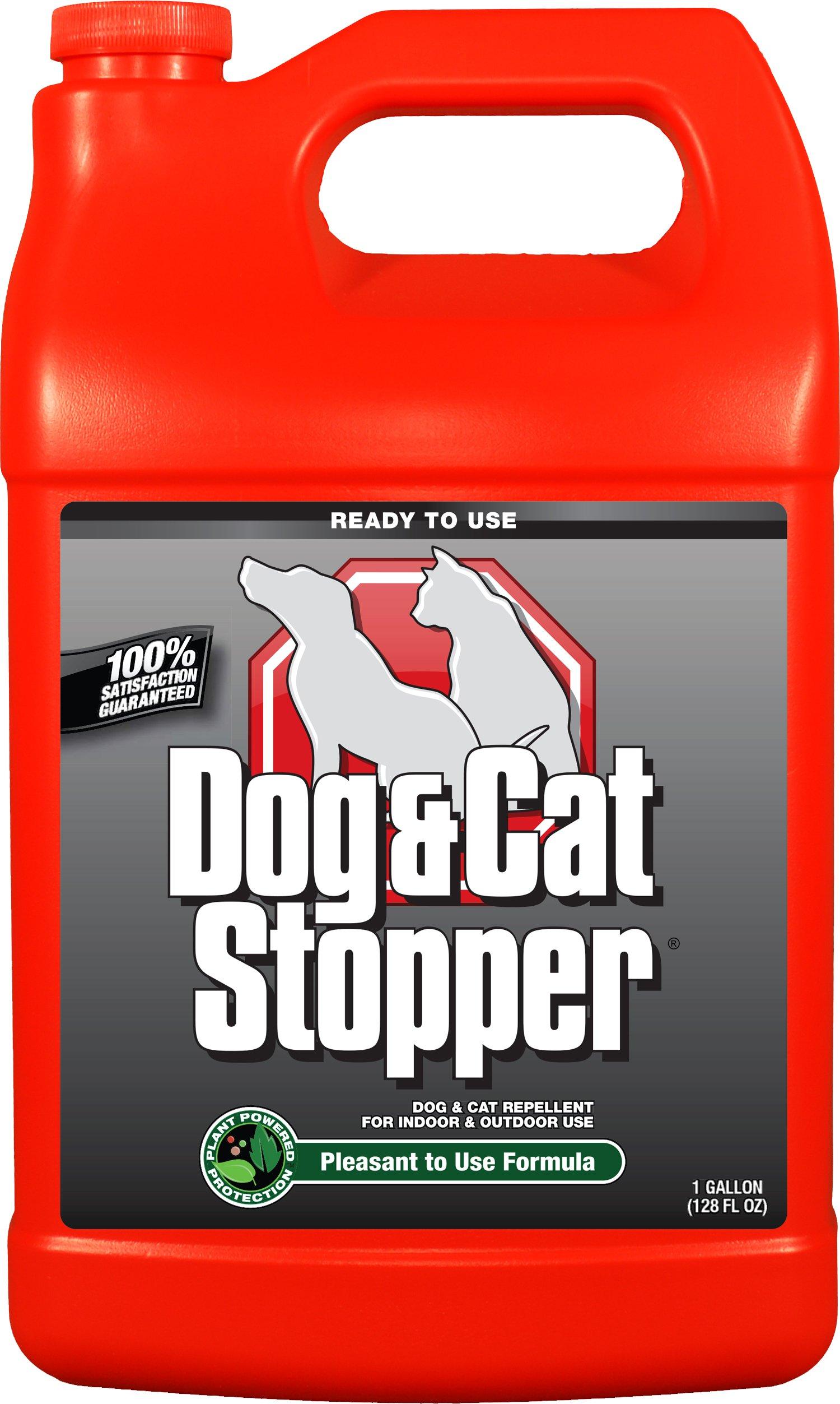 Messina Wildlife WW-U-128 Dog & Cat Stopper Refill Pest Repellant, 1 gallon