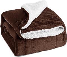 Bedsure 羊羔絨毛毯和抱被
