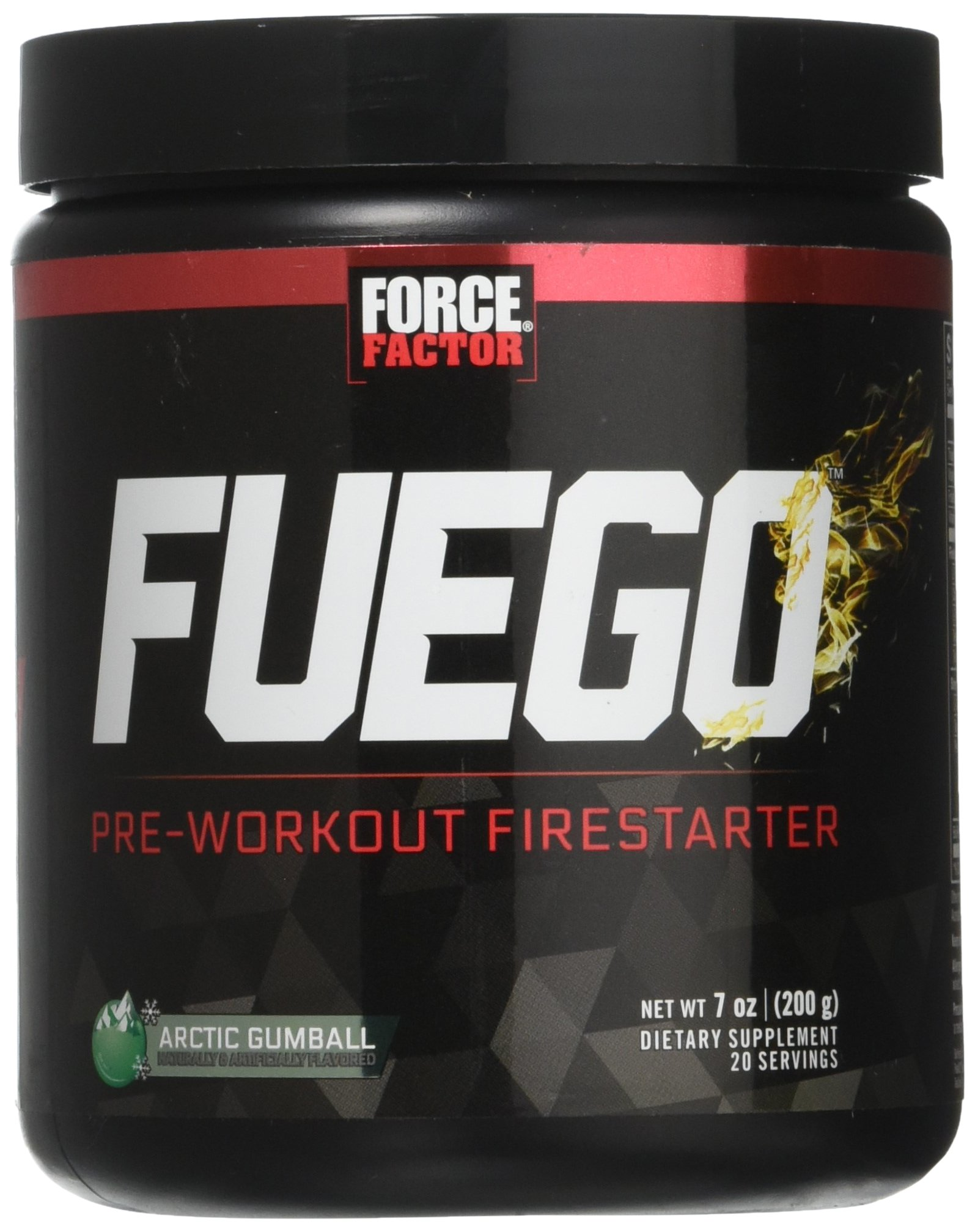 Amazon.com: Force Factor Fuego Pre-Workout Firestarter for