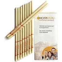 HOPISUN Ohrkerzen - mit Filter - 10 Stück