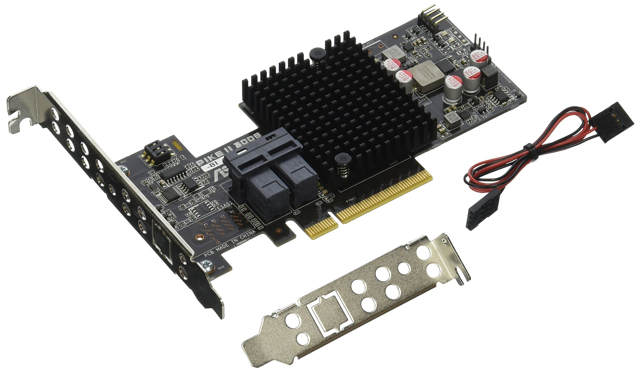 Asus PIKE II 3008-8i Storage Controller - Plug-In Card (PIKE II 3008-8I) by Asus