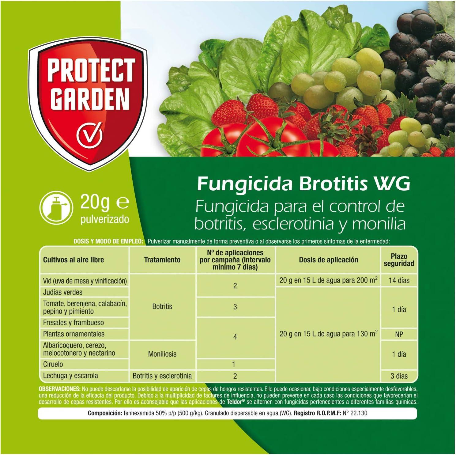 Protect Garden 79638558 Fungicida para el control de botritis ...