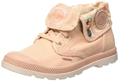 Palladium Boys' BGY Low Zi Lp K Trainers Pink Rose (D19 Soft