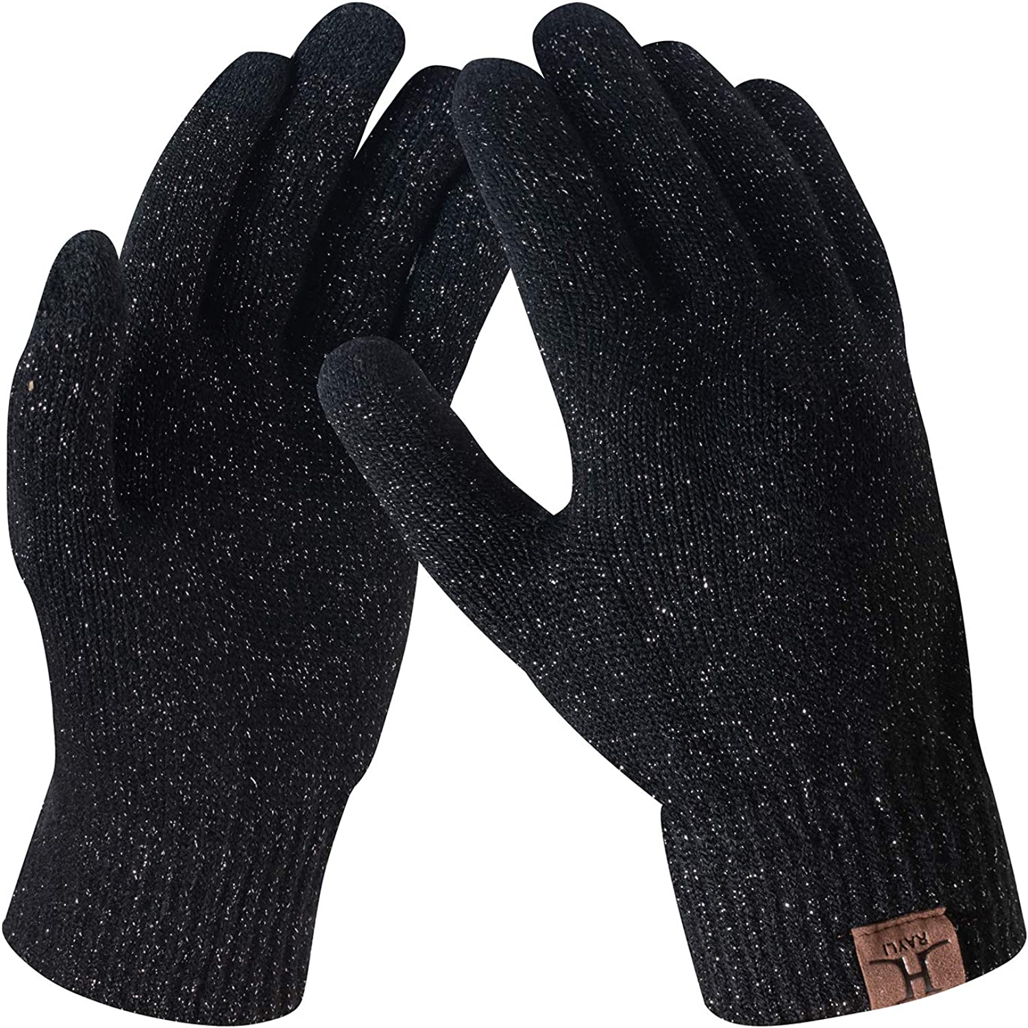 TOUCH SCREEN WINTER KNITTED GLOVES LADIES MENS KIDS FOR SMART PHONE TABLET MAGIC