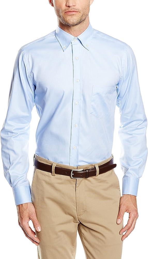 Mirto Happy Boton Camisa, Azul, 3 para Hombre: Amazon.es: Ropa y accesorios