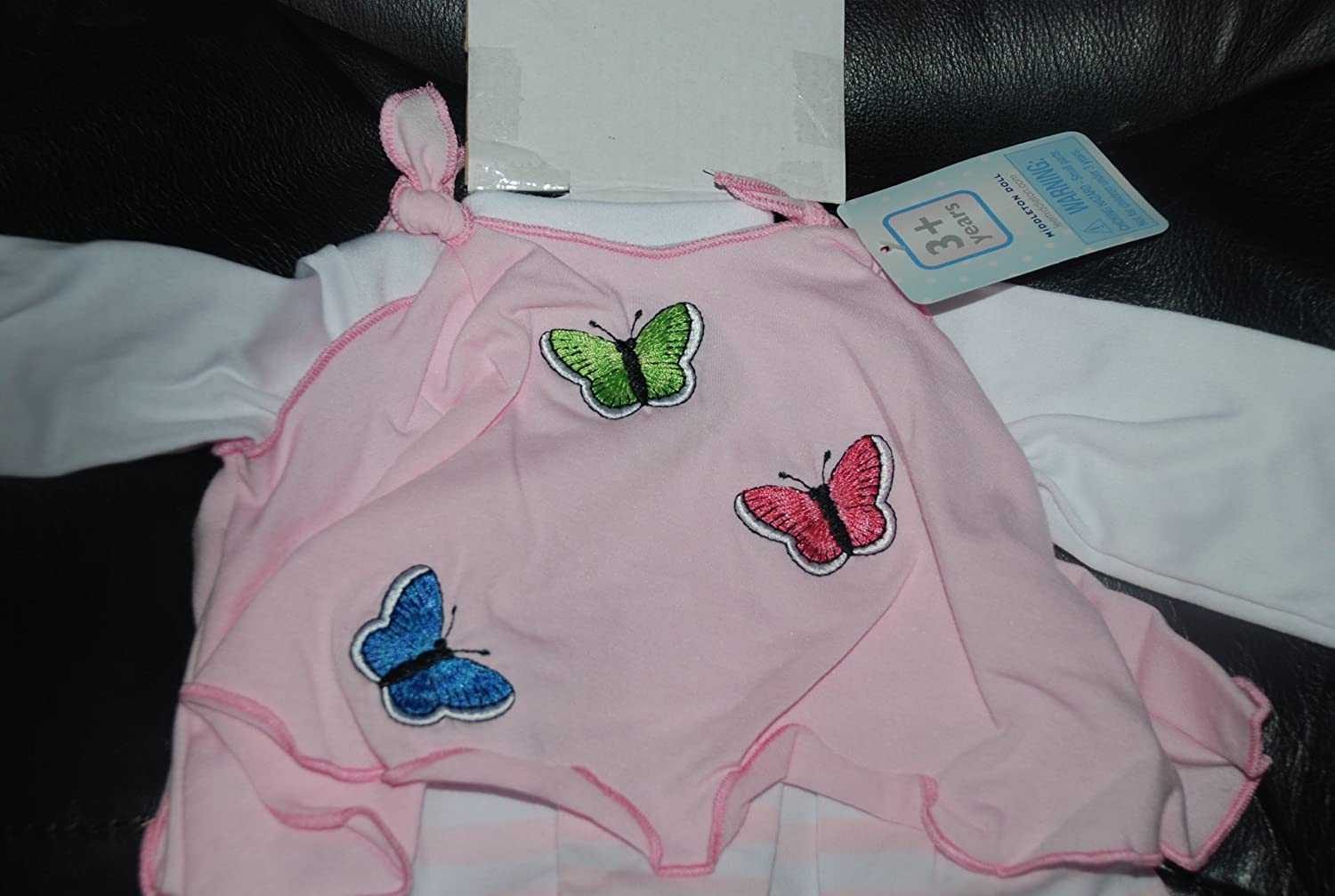 """Lee Middleton Pink Flutter Outfit  for 19/"""" Vinyl Baby  Doll New with Tag"""