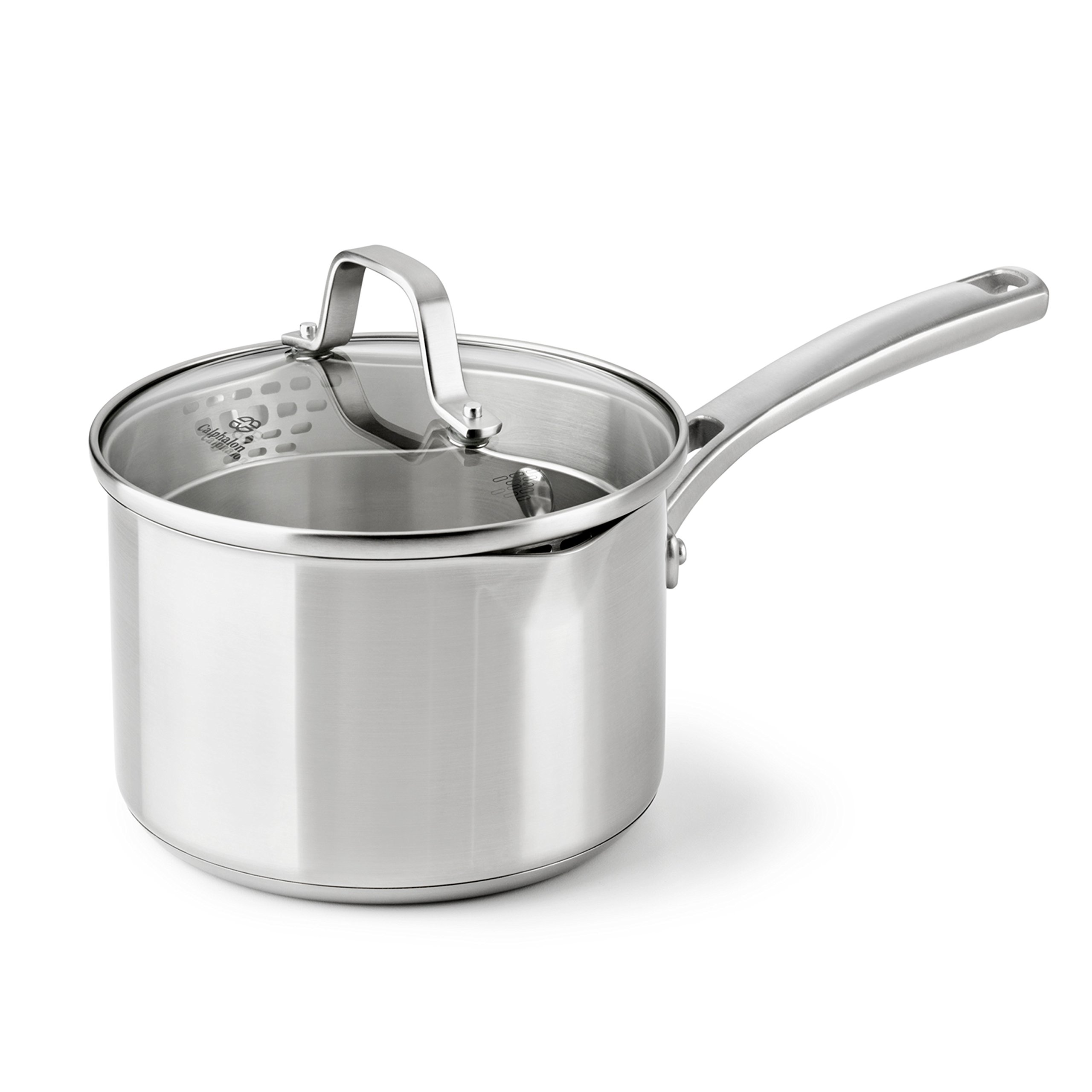 Calphalon Classic Stainless Steel Cookware, Sauce Pan, 2 1/2-quart by Calphalon