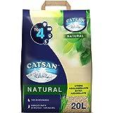 Catsan Natural – biologiskt nedbrytbar kattsand – effektiv luktneutralisering och fuktbindning