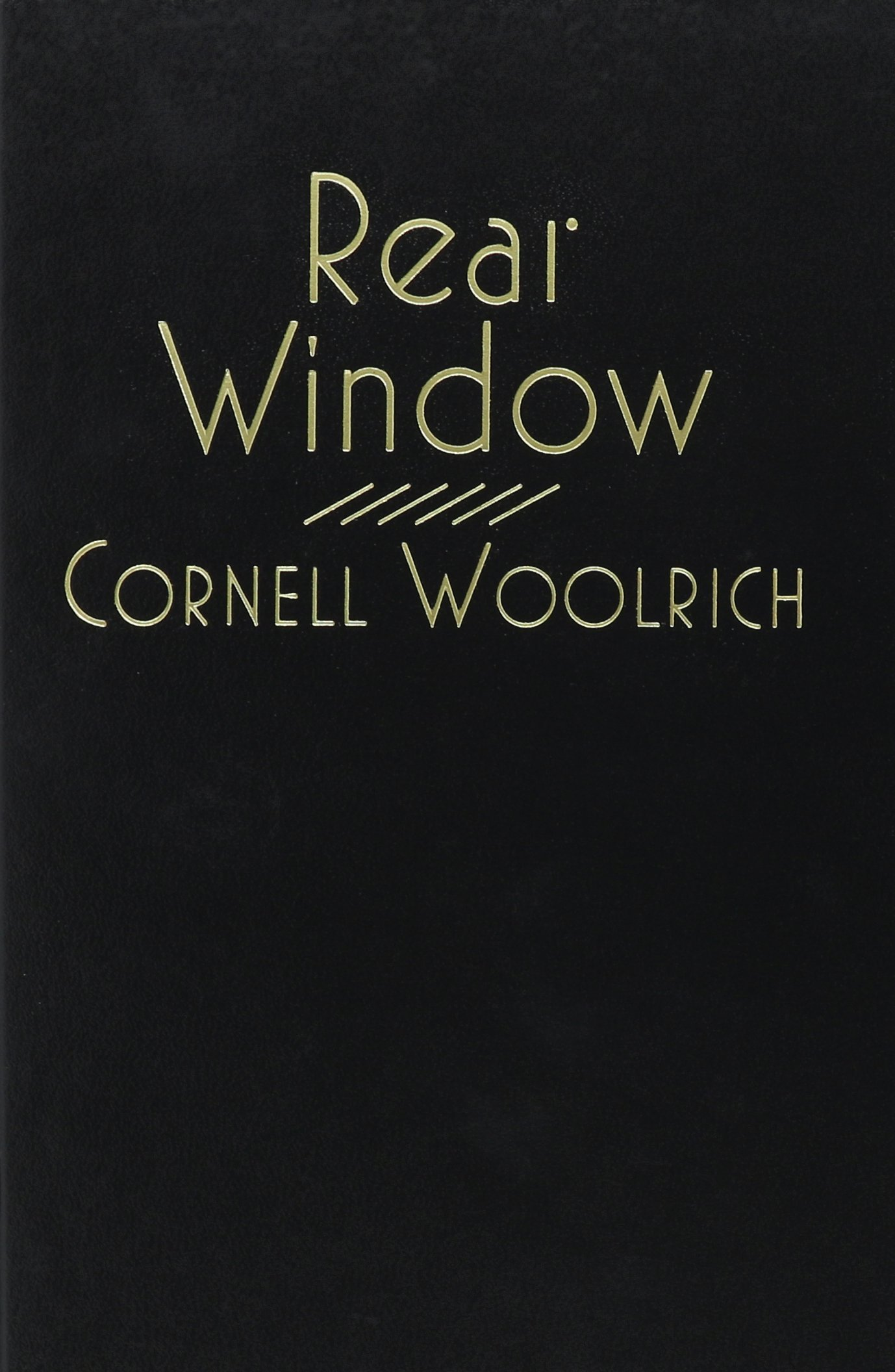 it had to be murder cornell woolrich