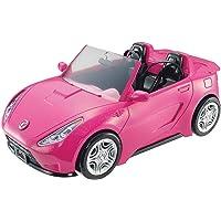 Barbie'nin Havalı Arabası, Üstü Açık, Pembe Araba DVX59
