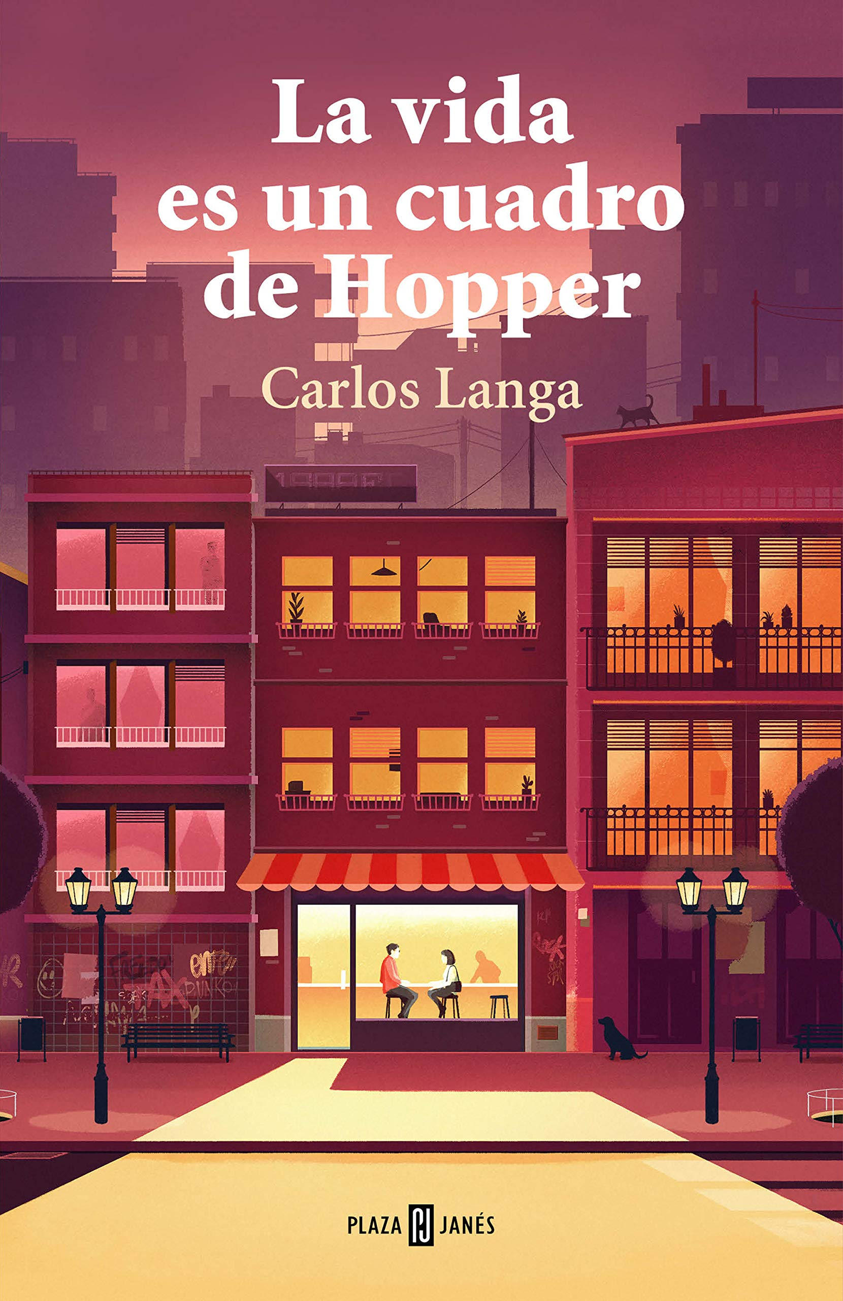 #Libro La vida es un cuadro de Hopper por sólo 8,54€