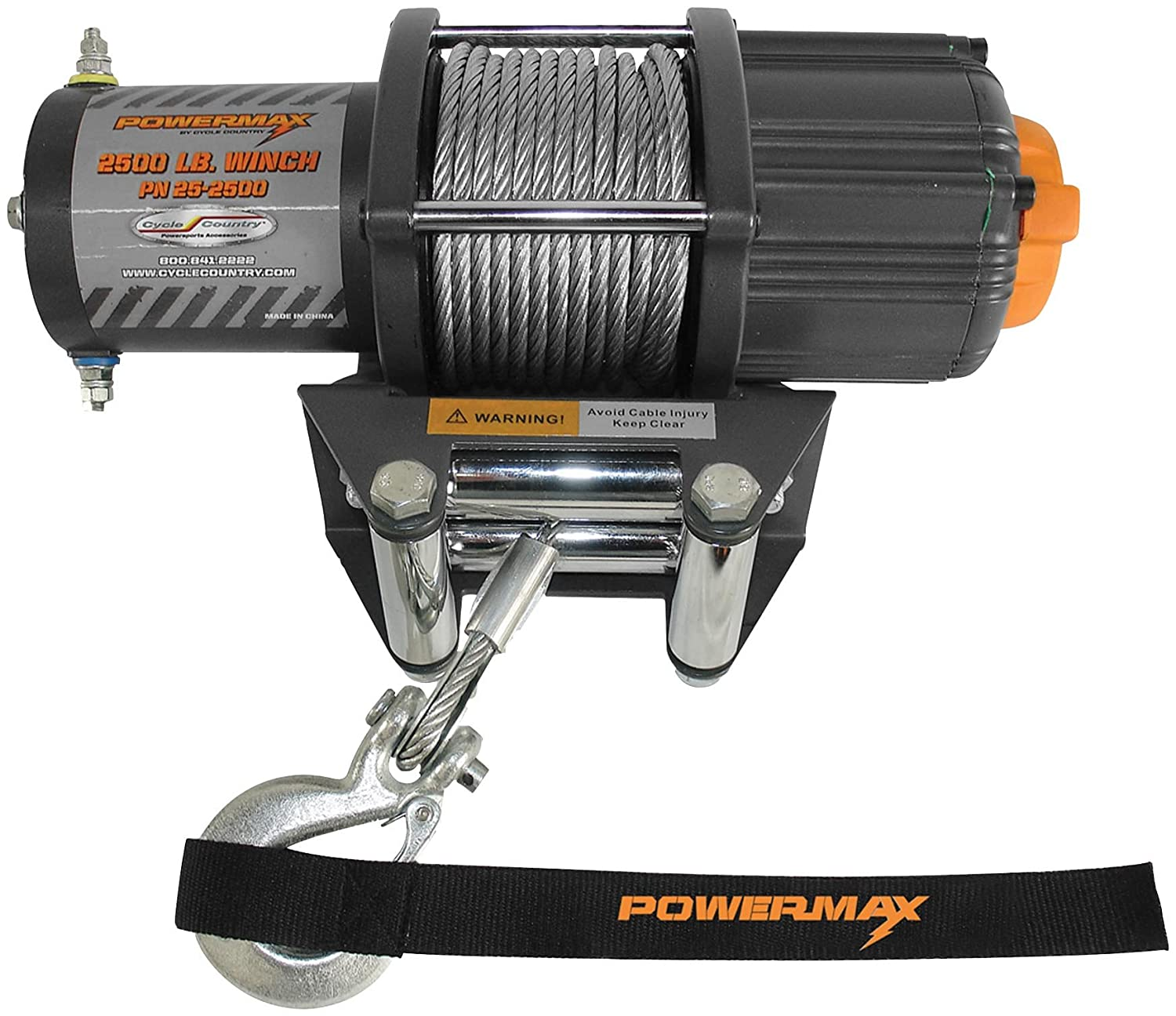 Cycle Country 25 2500 Powermax Winch Automotive T Max Wiring Diagram