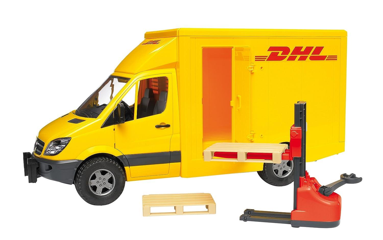 camion dhl mercedes sprinter de bruder. Black Bedroom Furniture Sets. Home Design Ideas