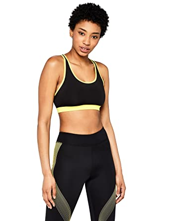 AURIQUE Sujetador Deportivo Bajo Impacto Tirantes Yoga Mujer: Amazon.es: Ropa y accesorios
