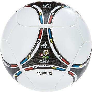 adidas Fußball Euro Top, WhiteBlack, 5, X16857: