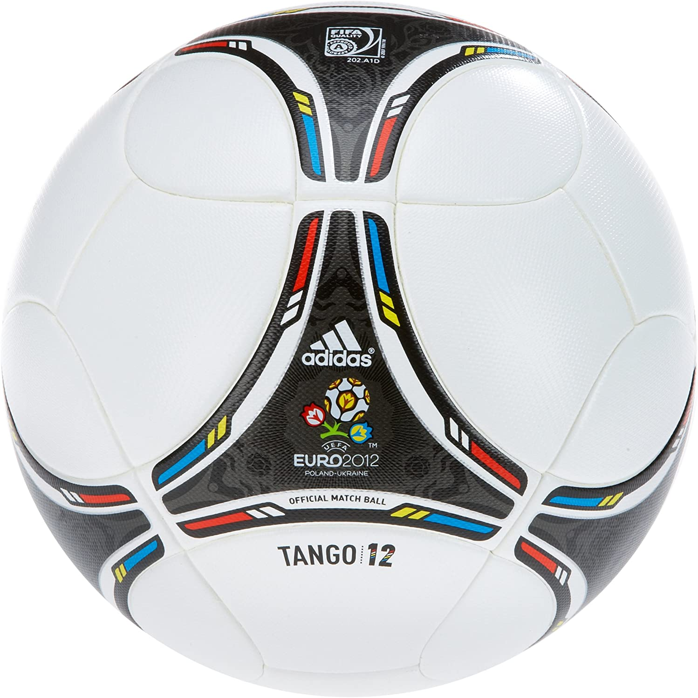 adidas 5 Euro Top - Balón de fútbol, Color Blanco y Negro Blanco ...