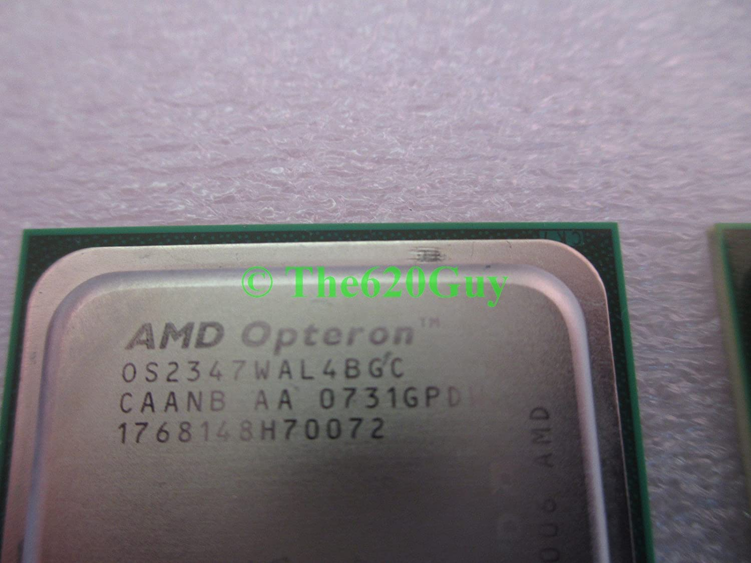 Lot of 2 AMD OS2347WAL4BGC Opteron 2347 Quad Core 1.9GHz Socket F CPUs Processo+