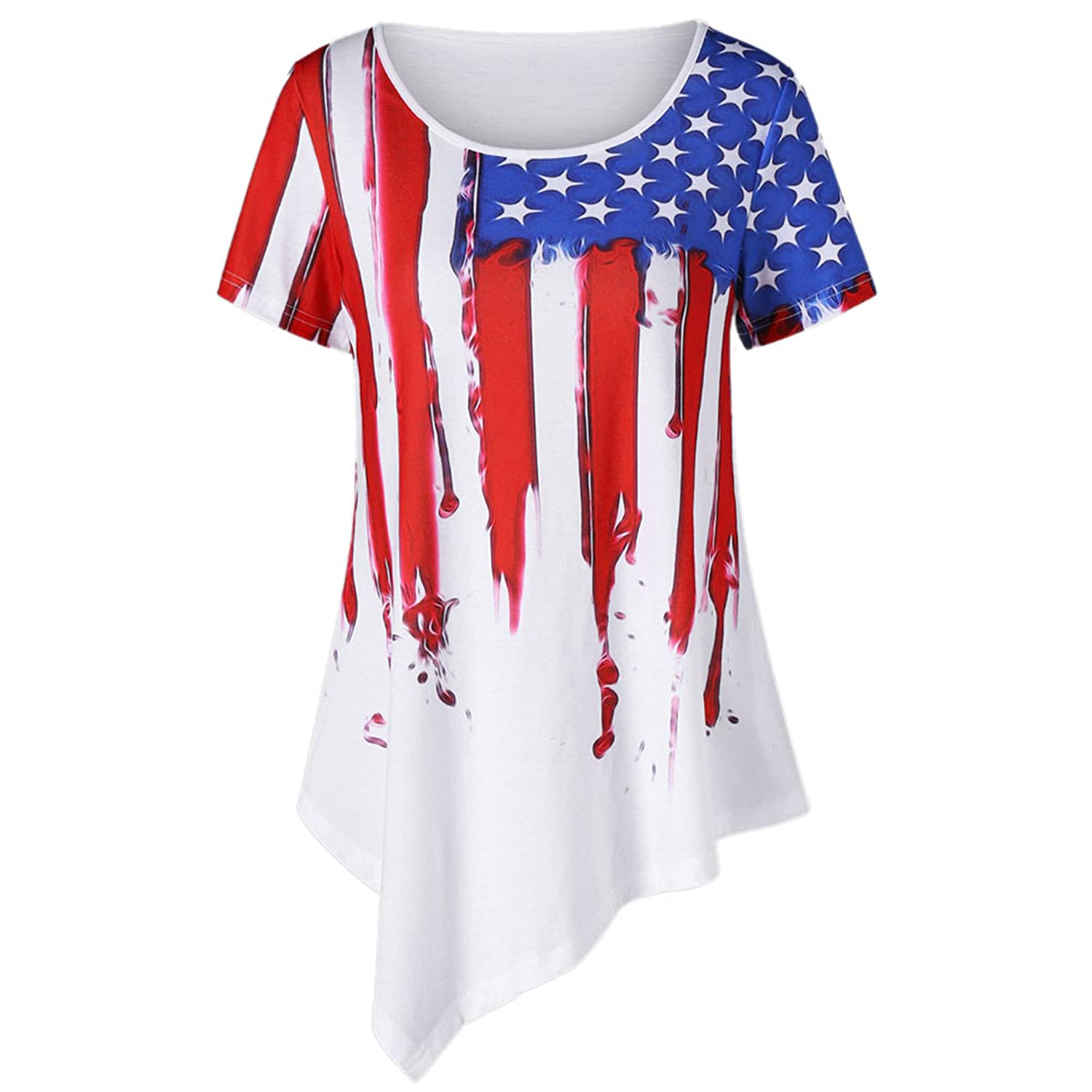 c8c190087377 Top 10 wholesale Plus Size American Flag Clothing - Chinabrands.com