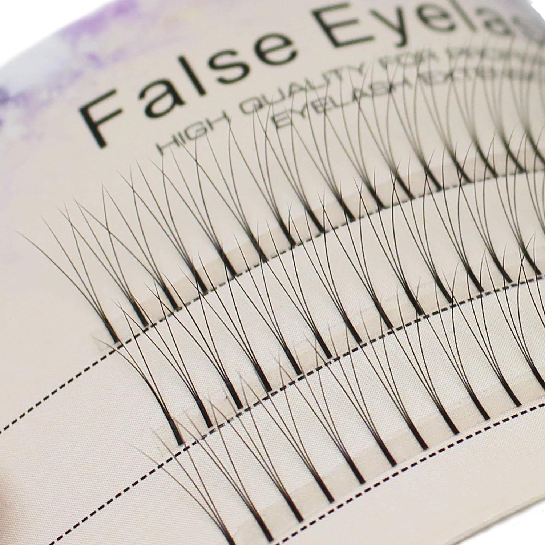 Scala 0.1 C Curl 120pcs 8-16mm to Choose Individual Lashes Black False Eyelash Natural Long Cluster Extension Makeup Beauty Health Makeup Fake Eyelashes (13mm)