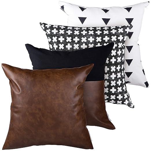 Amazon.com: RuffledThread - Fundas de almohada de lino y ...