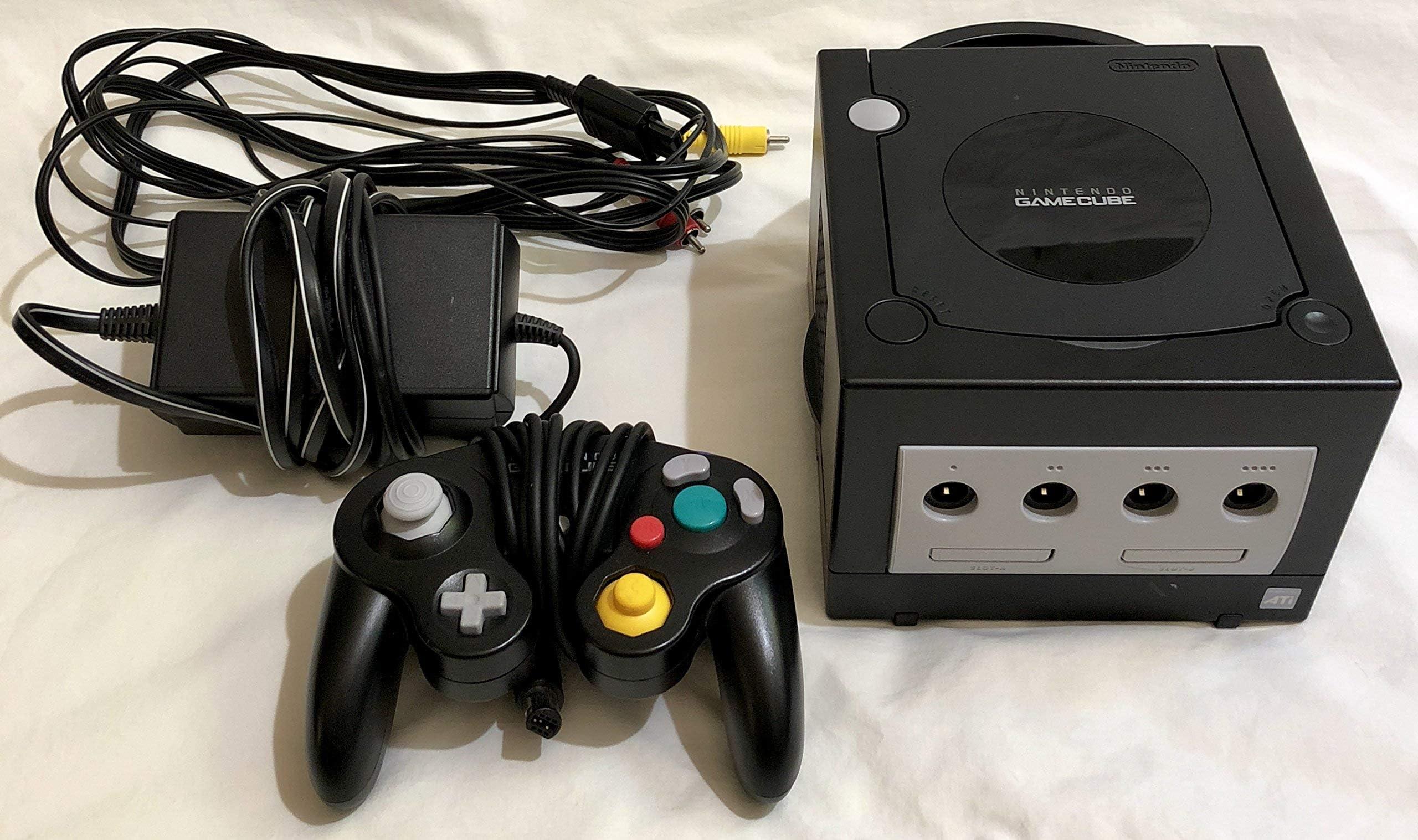 Amazon.com: Nintendo Gamecube System Console - Jet Black ...