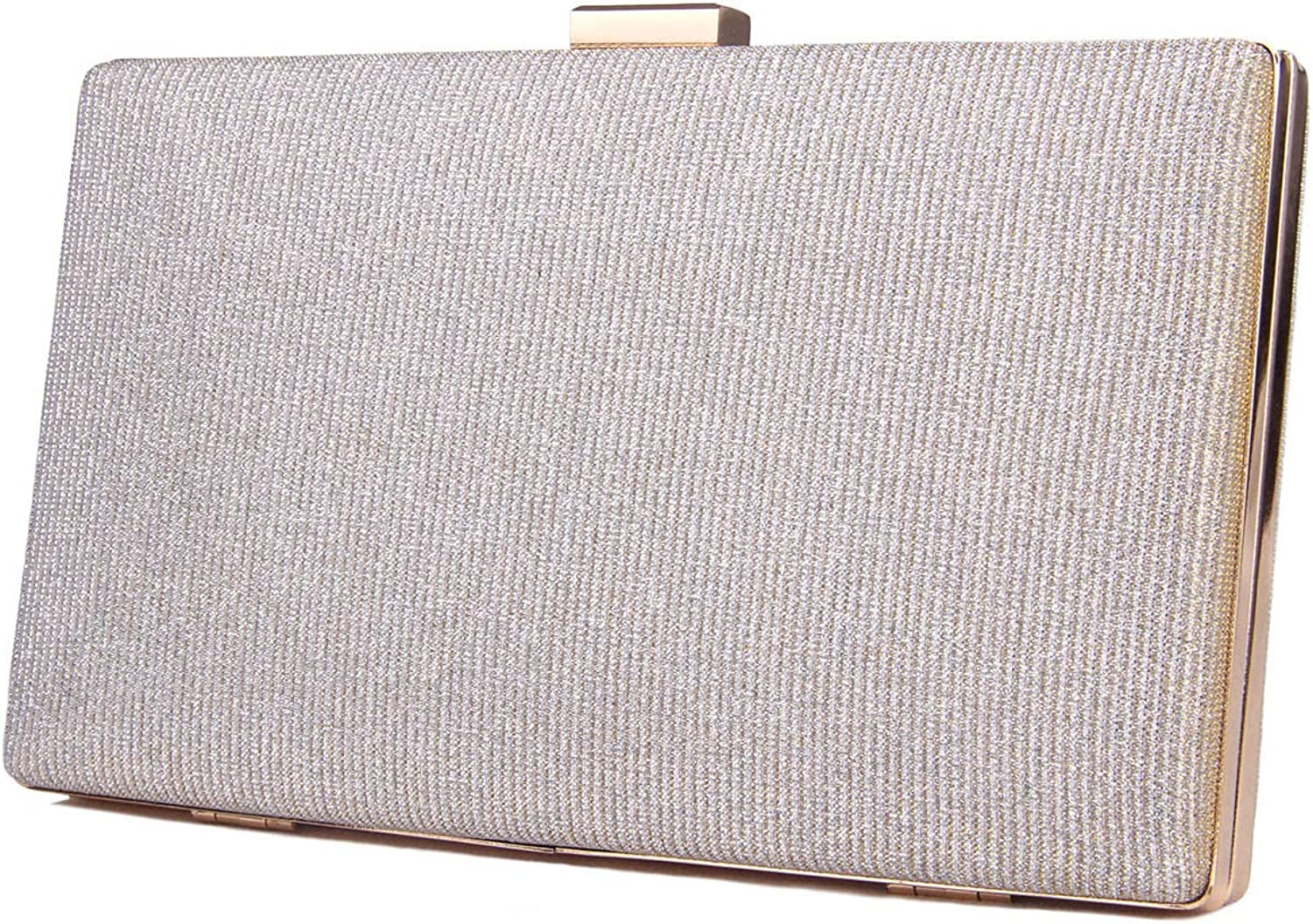 Create Fashion Women's Clutch Evening Bag Sparkling Fabric For Party Wedding