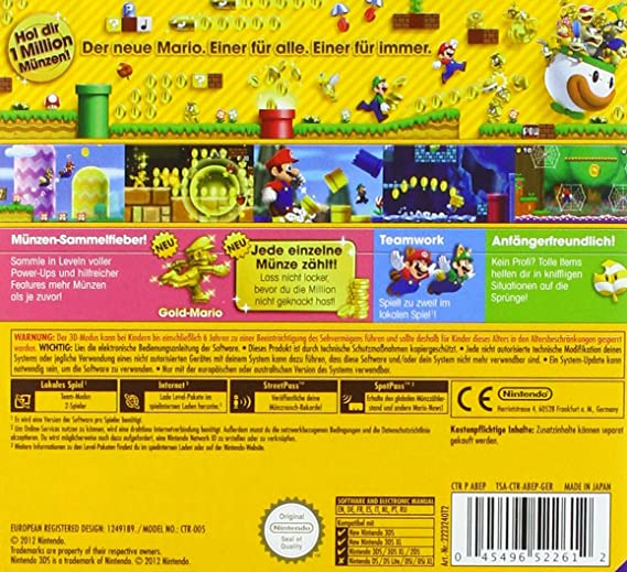 New Super Mario Bros 2 Amazonfr Jeux Vidéo