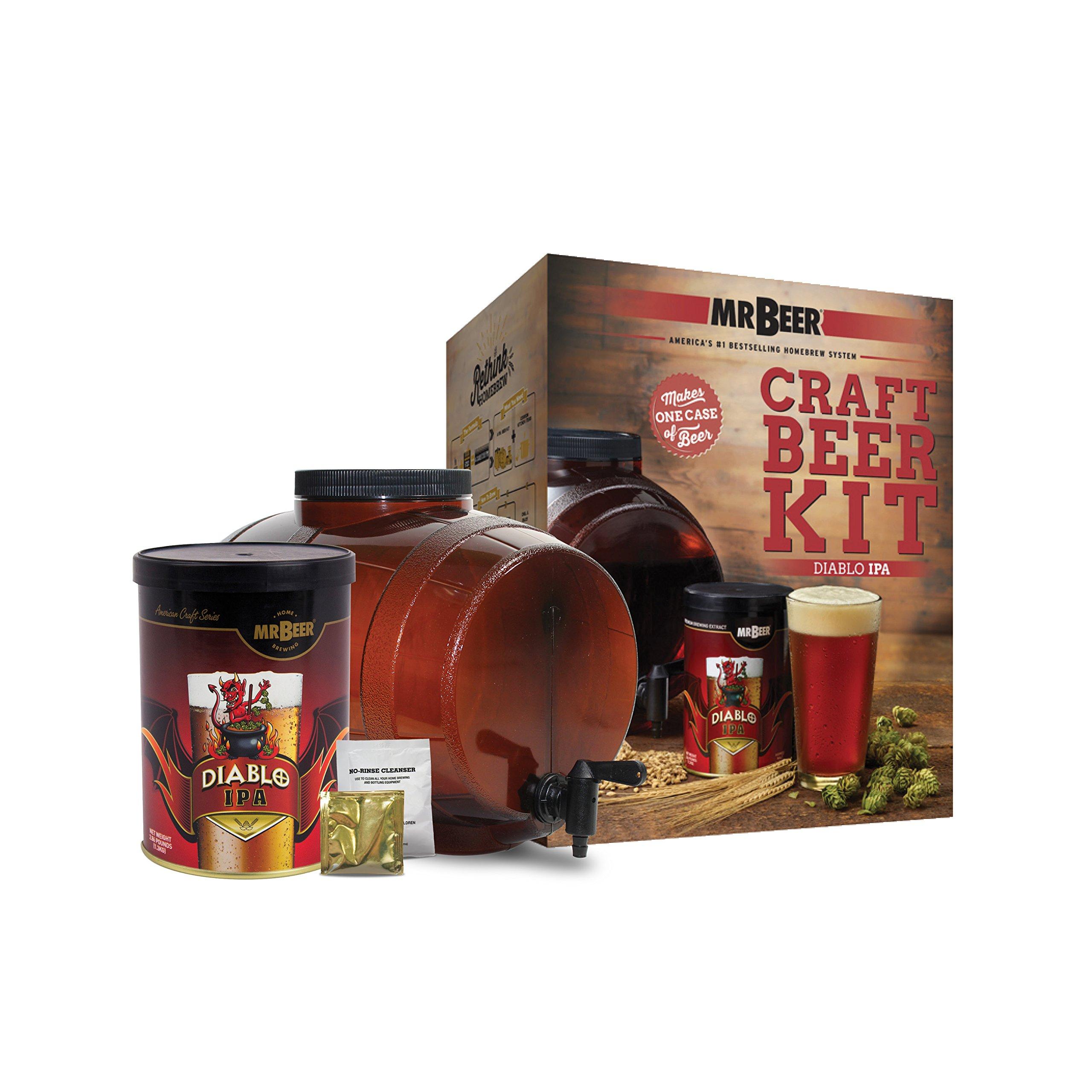 Mr. Beer Diablo IPA Craft Beer Making Kit
