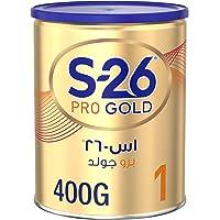 Wyeth Nutrition S26 Pro Gold Stage 1, 0-6 Months Premium Starter Infant Formula, 400g