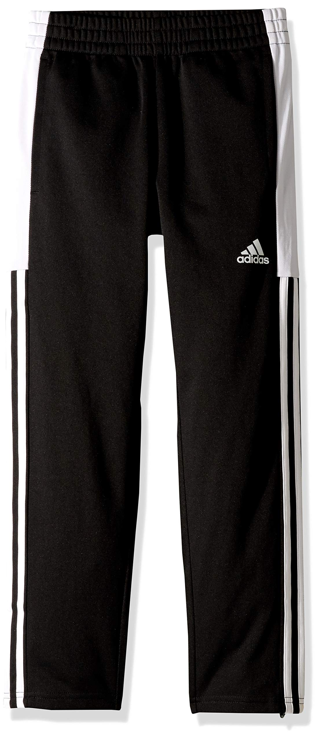 adidas Boys' Big Tapered Trainer Pant, Striker Black, M (10/12) by adidas