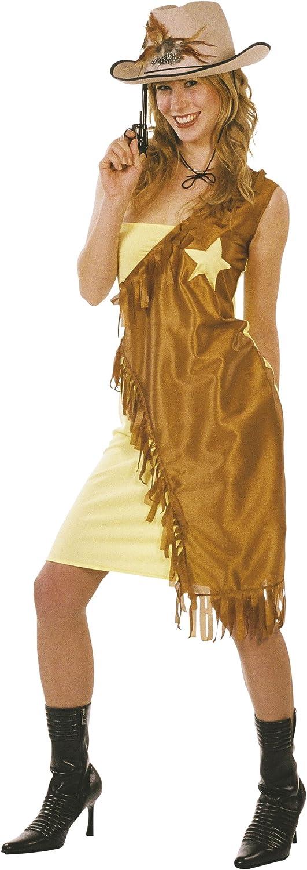 Cesar - Disfraz de vaquera (cowgirl) para mujer (adulto), talla única: Amazon.es: Juguetes y juegos