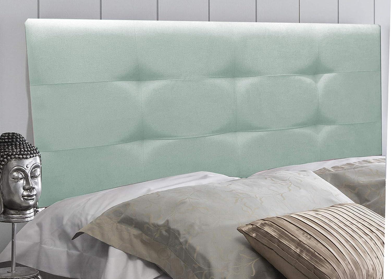 Beige, 90 * 70 Cabecero tapizado Deluxe Tejido Innovador con un Tacto Agradable y Acogedor Medidas