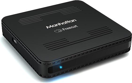 Manhattan Sx Freesat Hd Set Top Box Schwarz Heimkino Tv Video