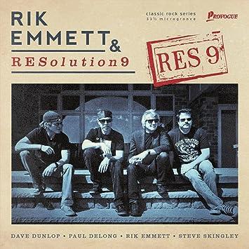 """Resultado de imagem para Rik Emmett & REsolution 9 – """"RES9"""""""