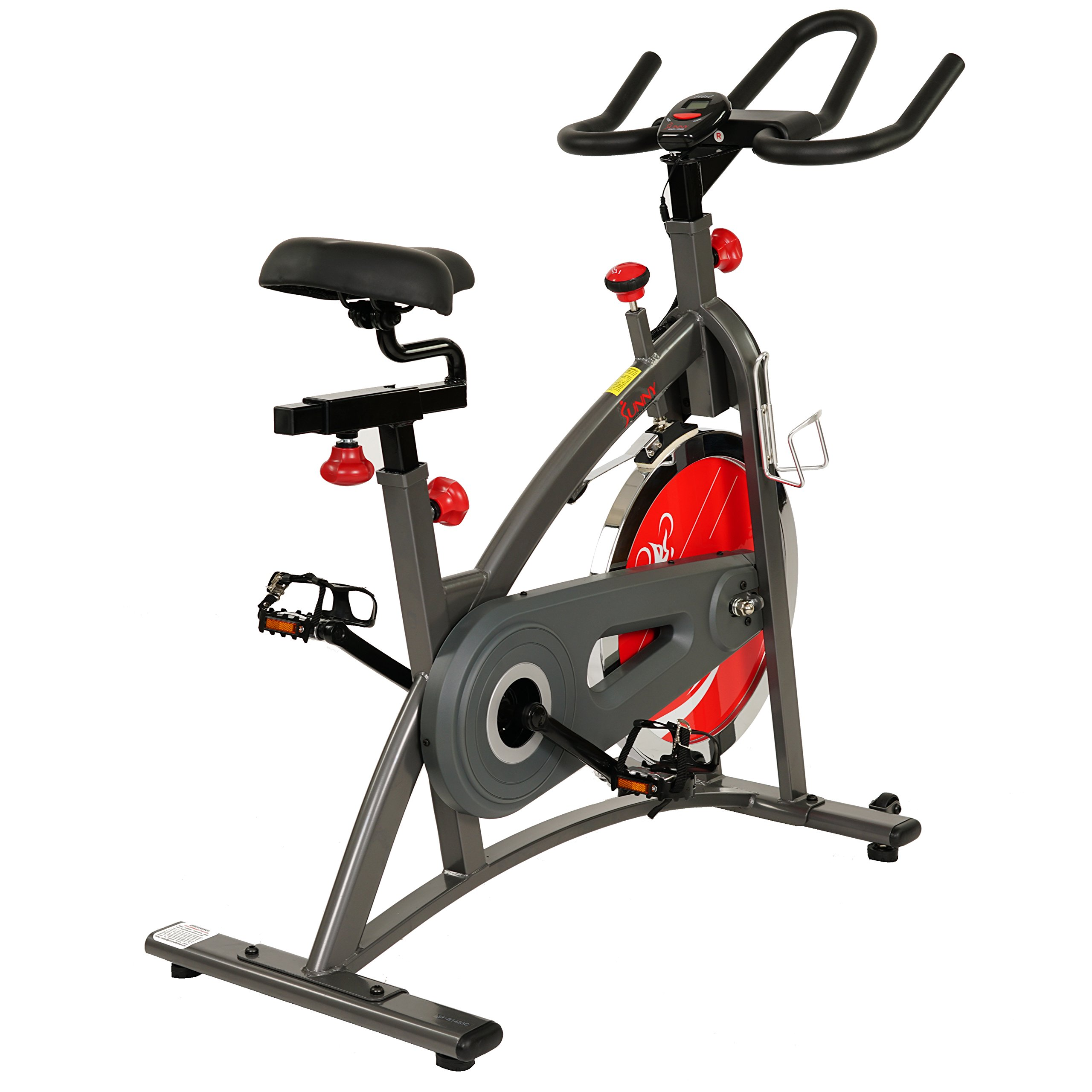 Sunny Health & Fitness Belt Drive Indoor Cycling Bike SF-B1423 by Sunny Health & Fitness (Image #14)