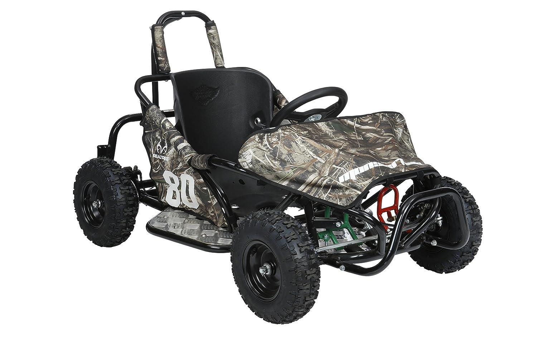 Amazon com: Monster Moto MM-K80-RT Realtree Go Kart: Automotive