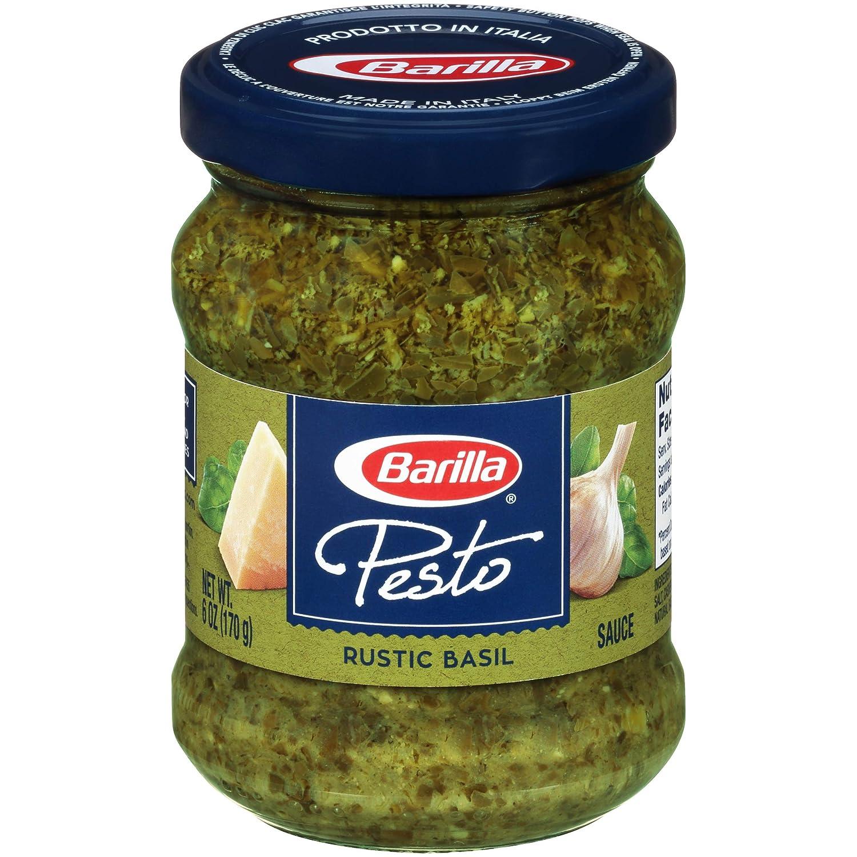Barilla Traditional Basil Pesto Sauce, 6 oz