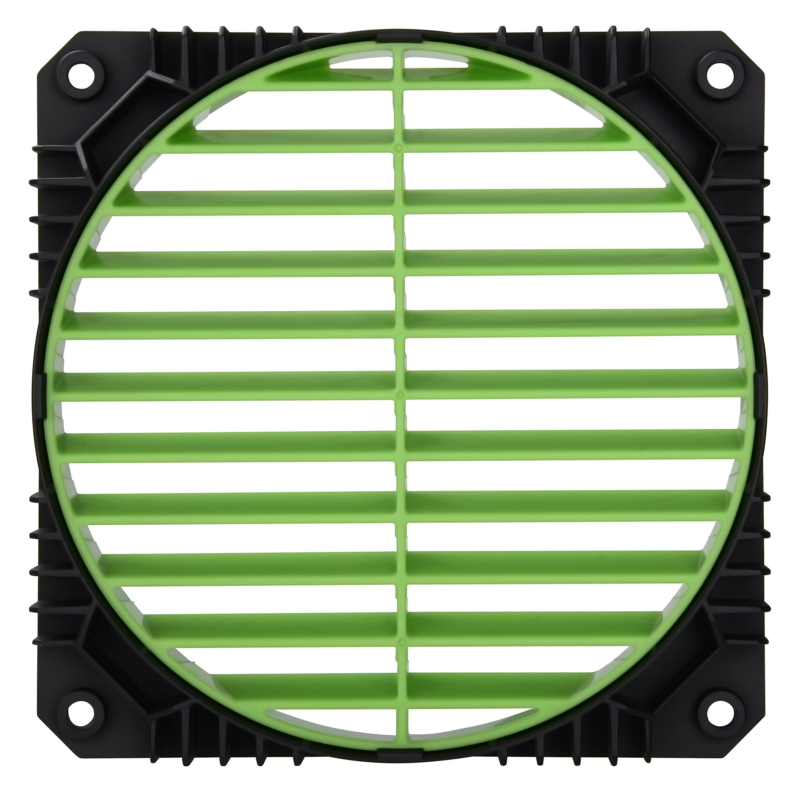 Enermax Air Guide 360° Rotatable Fan Grill, Solution to Airflow Management Twin Pack Green, EAG001-G by Enermax (Image #2)