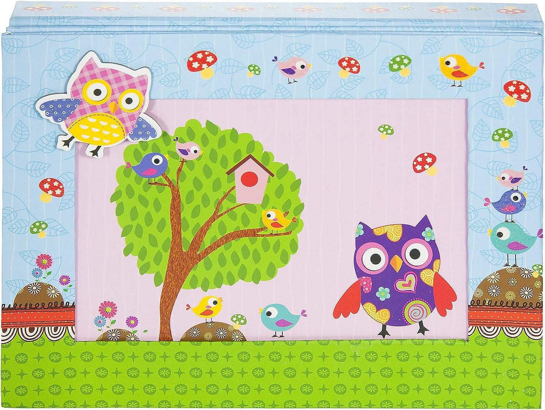 Petite Mousehouse Gifts Filles Hibou Chouette Cadeau pour Enfants Ensemble de Cahiers Papeterie