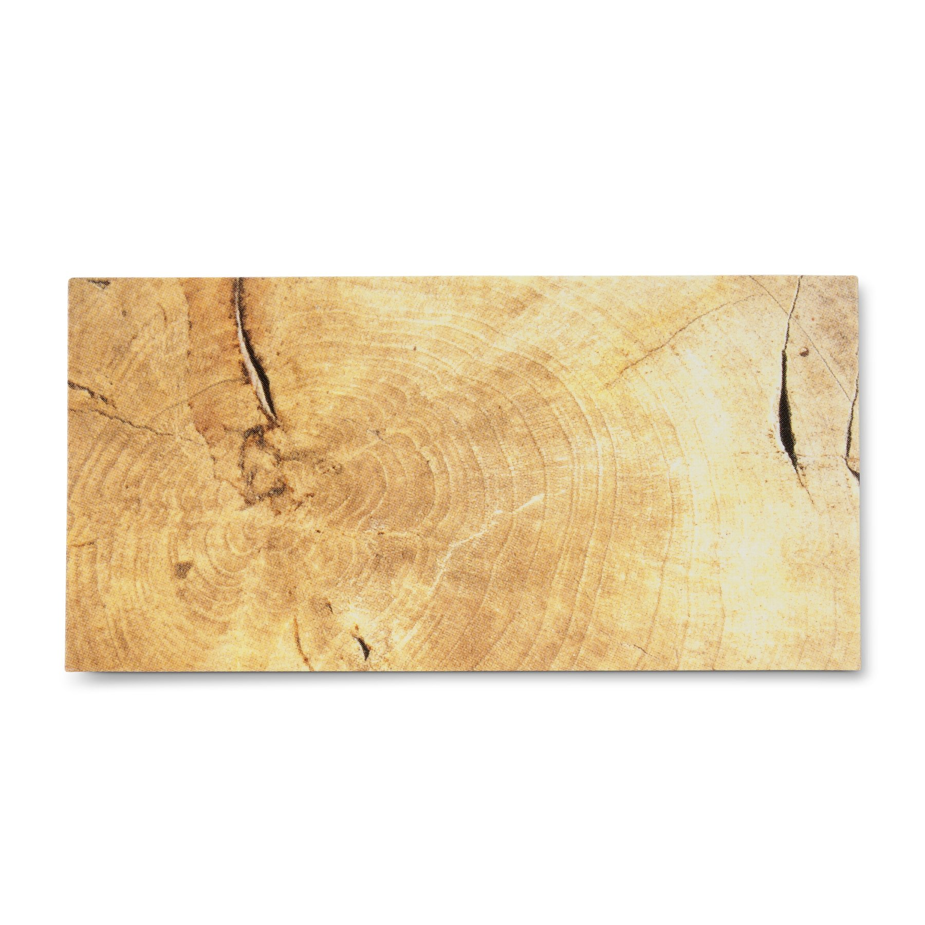 Abbott Collection Wood Grain Place cards, Brown/Tan (Set of 24)