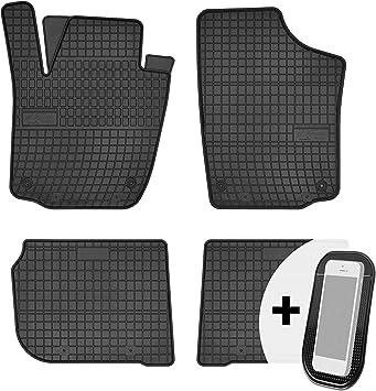 Gummimatten Auto Fußmatten Gummi Automatten Passgenau 4 Teilig Set Passend Für Seat Toledo 4 Skoda Rapid 2012 2019 Auto