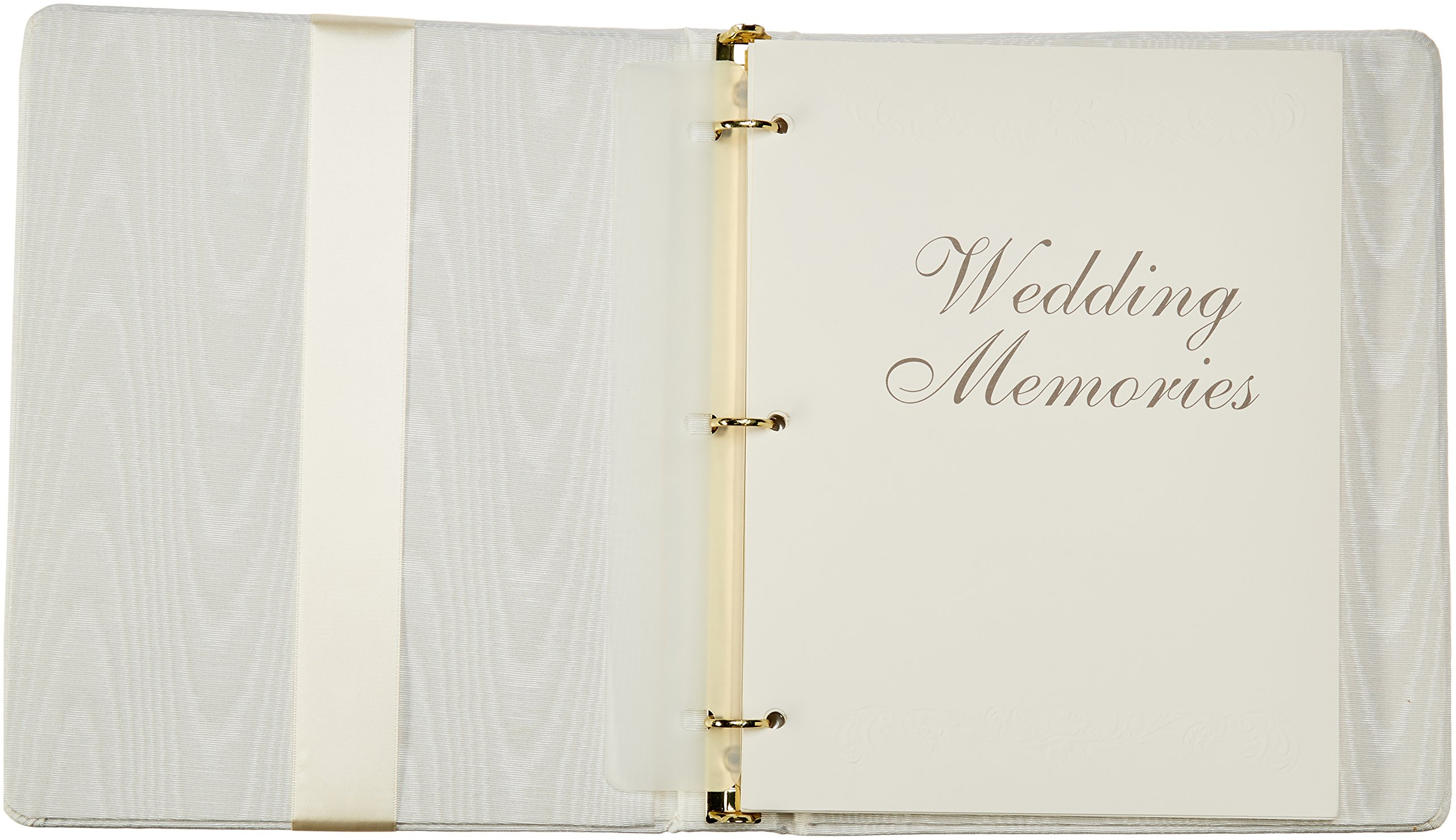 Beverly Clark Collection Grace, Memory Book with Crystal Cross, Ivory by Ivy Lane Designs (Image #2)