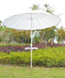 "AMMSUN Beach Umbrella Sand Anchor, 16.7"" Pole"