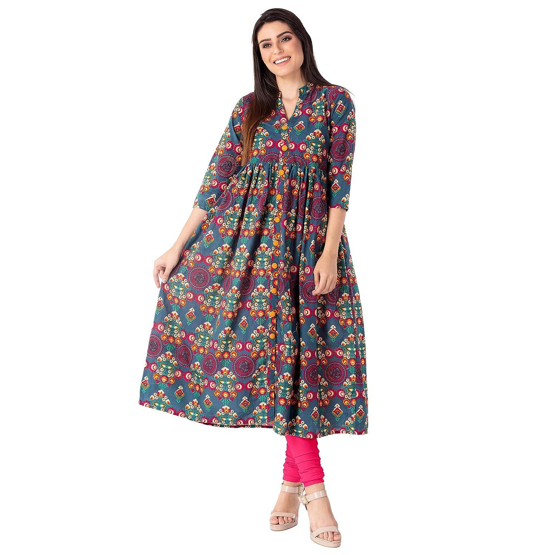 Best Cotton A-Line Kurta For Women's