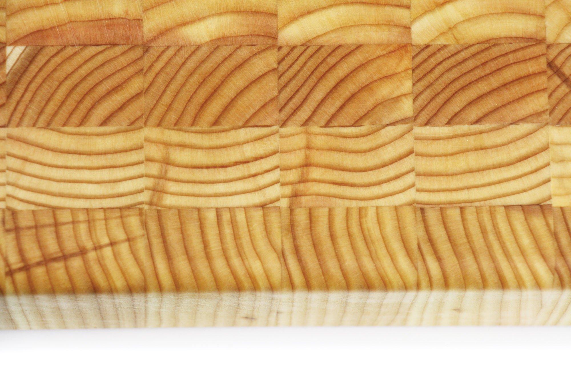 Larch Wood 24 x 18 x 2-inch End Grain Cutting Board by Larch Wood (Image #3)