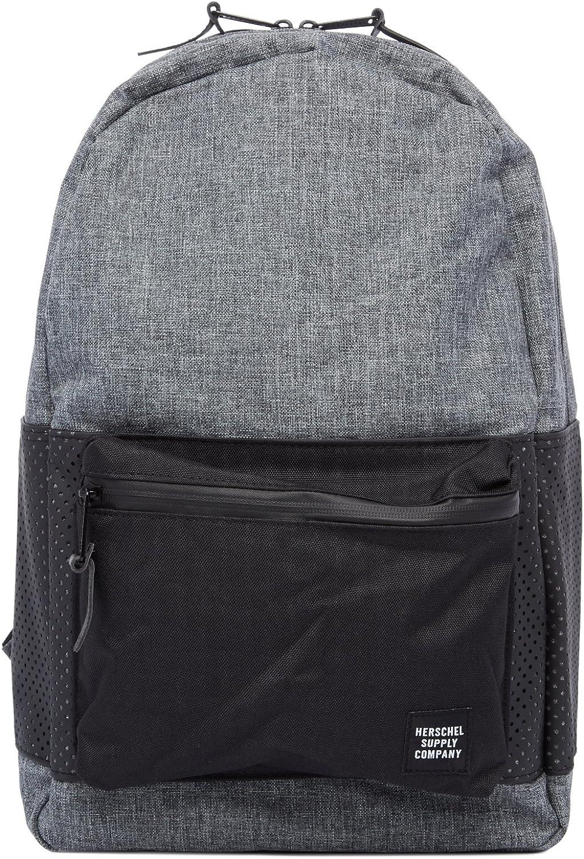 Herschel Supply Co. Men's Aspect Settlement Backpack, Raven Crosshatch/Black, One Size