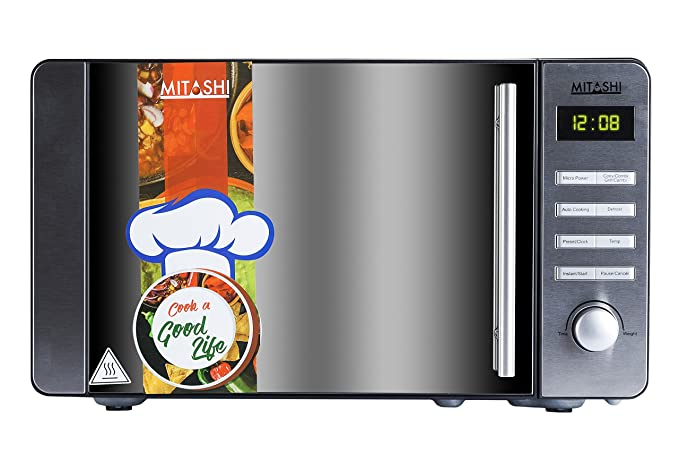 Mitashi 20 L Convection Microwave Oven (MiMW20C8H100, Black)