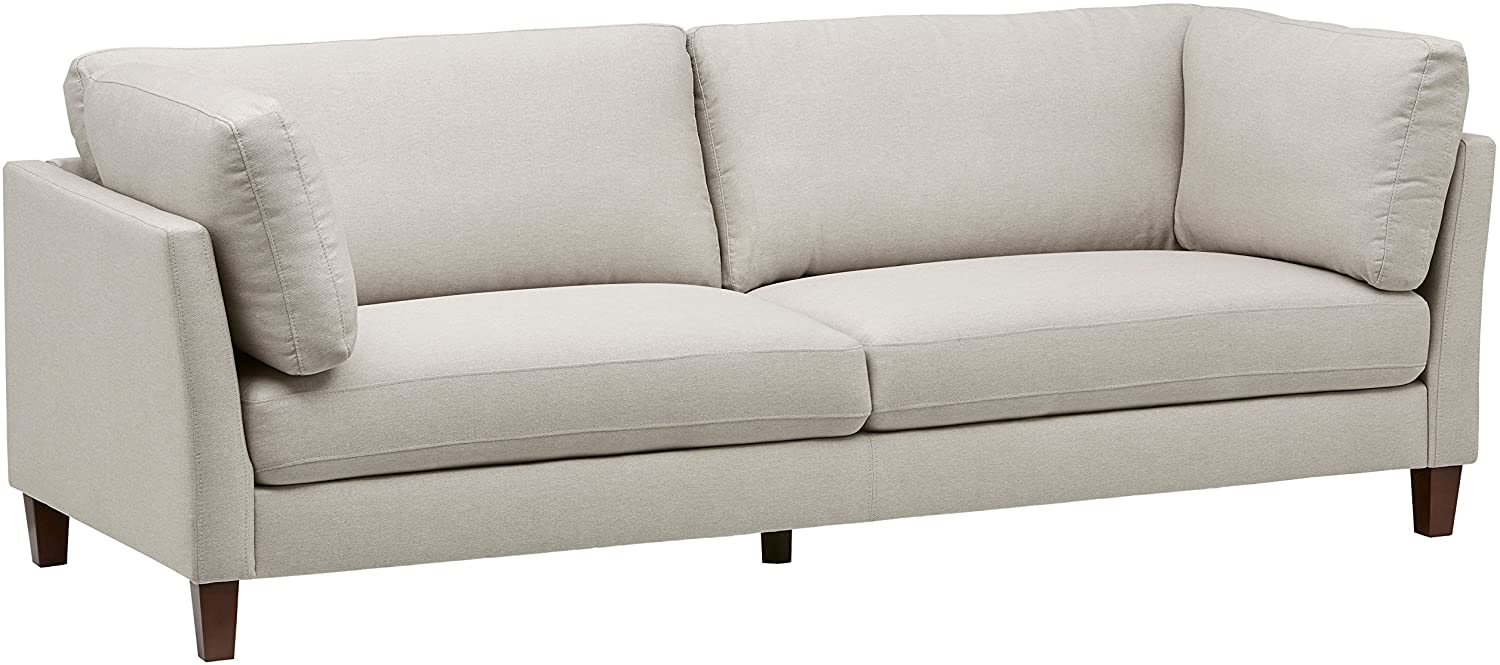 Amazon Brand – Rivet Midtown Contemporary Upholstered Sofa Couch, 92.1